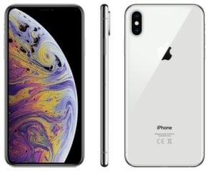 Apple iPhone XS Max, 512 GB, Sidabrinė