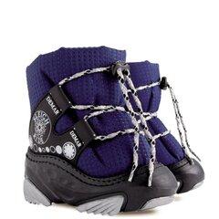 Žieminiai batai su natūralia vilna Demar, Snow ride b 4016, mėlyni kaina ir informacija | Avalynė vaikams | pigu.lt
