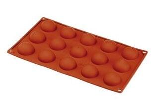 Elastotech silikoninė forma pussferėms D4 cm, 15 vnt