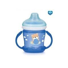 Neišsiliejantis puodelis CANPOL Sweet fun, 180 ml, 57/300 blue