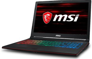 MSI GP63 8RE-060XPL 32 GB RAM/ 128 GB M.2 PCIe/ 1TB HDD/ Win10P