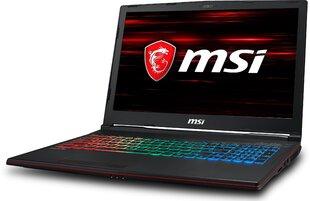 MSI GP63 8RE-060XPL 32 GB RAM/ 512 GB M.2 PCIe/ 128 GB SSD/ Win10H kaina ir informacija | Nešiojami kompiuteriai | pigu.lt