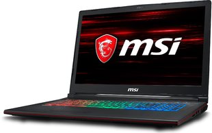 MSI GP73 8RE-057XPL 32 GB RAM/ 512 GB M.2 PCIe/ 256 GB SSD/ Win10P kaina ir informacija | Nešiojami kompiuteriai | pigu.lt
