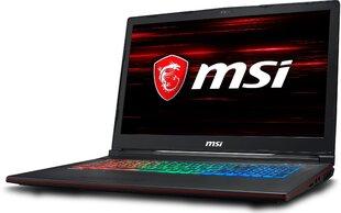 MSI GP73 8RE-057XPL 32 GB RAM/ 512 GB M.2 PCIe/ 240 GB SSD/ Win10H kaina ir informacija | Nešiojami kompiuteriai | pigu.lt