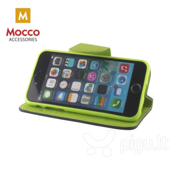 Mocco Fancy Book Case For Apple iPhone XR Blue - Green kaina