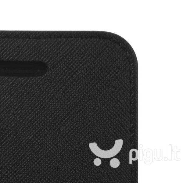 Mocco Fancy Book Case For Huawei Y9 (2018) Black