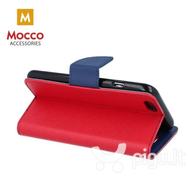 Mocco Fancy Book Case For Nokia 6.1 / Nokia 6 (2018) Sarkans - Blue atsiliepimas
