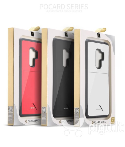 Dux Ducis Pocard Series Premium Protect Silicone Case, skirtas Samsung Galaxy Note 9, juodas atsiliepimas