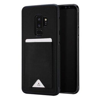 Dux Ducis Pocard Series Premium Protect Silicone Case, skirtas Samsung Galaxy Note 9, juodas kaina ir informacija | Telefono dėklai | pigu.lt