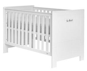 Lovytė Marsylia, 70x140 cm, balta kaina ir informacija | Vaiko kambario baldai | pigu.lt