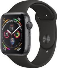 Apple Watch S4, GPS, 44mm, Juoda