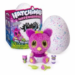 Интерактивное яйцо с домашним животным Hatchimals HatchiBabies Cheertree