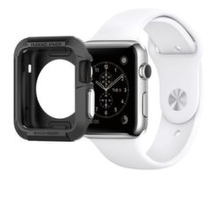 Spigen Apple watch 1/2/3, 42mm, Juoda