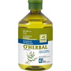 Šampūnas riebiems plaukams Elfa Pharm O'Herbal 500 ml