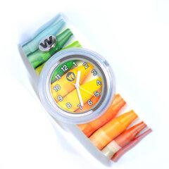 Laikrodis vaikams Watchitude Slap Watch, 363 Crayons kaina ir informacija | Aksesuarai vaikams | pigu.lt