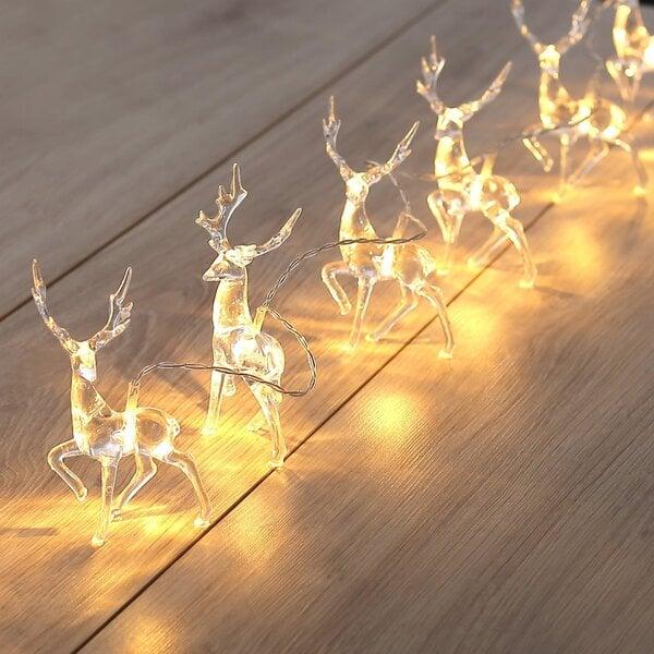DecoKing girlianda Elniai, 10 LED kaina ir informacija | Girliandos | pigu.lt