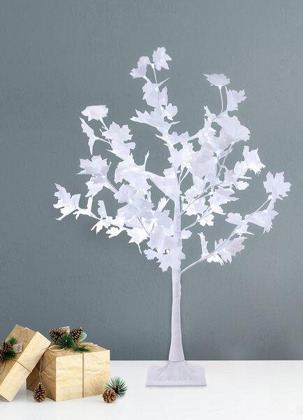 DecoKing šviečianti Kalėdinė dekoracija Klevas, 72 LED kaina