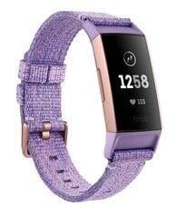 Išmanioji apyrankė Fitbit Charge 3, Lavender/Rose Gold kaina ir informacija | Išmanieji laikrodžiai, apyrankės | pigu.lt