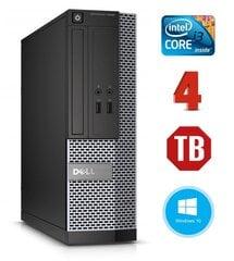 Dell 3020 SFF i3-4130 4GB 1TB DVDRW WIN10Pro kaina ir informacija | Stacionarūs kompiuteriai | pigu.lt