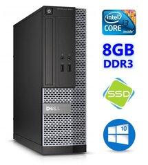 DELL 3020 SFF i3-4130 8GB 120SSD DVDRW WIN10Pro цена и информация | DELL 3020 SFF i3-4130 8GB 120SSD DVDRW WIN10Pro | pigu.lt