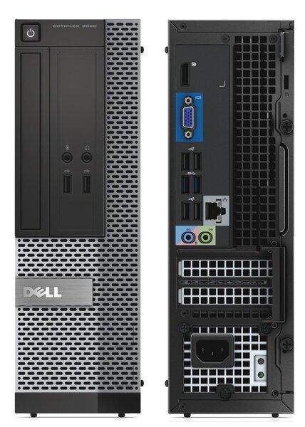Dell 3020 SFF i3-4130 8GB 500GB DVDRW WIN10Pro kaina