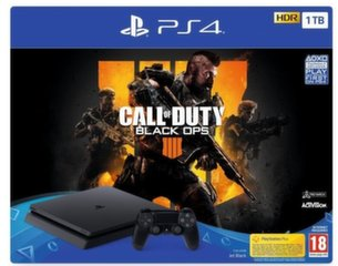 Sony PlayStation 4 (PS4) Slim 1TB + Call of Duty Black Ops IV