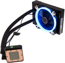 Antec K120, 120mm Blue LED Cooler K120 AIO Intel/AMD CPU Watercooler (0-761345-74015-9)