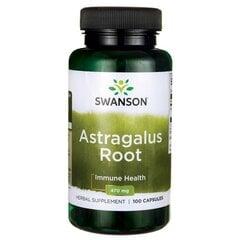 Maisto papildas Swanson Astragalus (Kulkšnė), 100 kaps. kaina ir informacija | Vitaminai ir maisto papildai imunitetui | pigu.lt