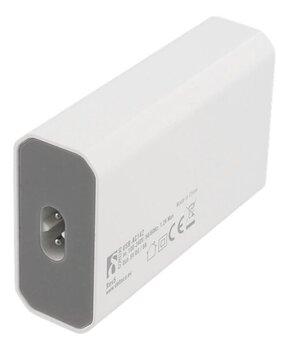 Deltaco USB-AC142, 1 x USB-C, 3 x USB, 8A kaina ir informacija | Krovikliai telefonams | pigu.lt