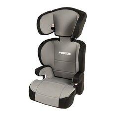 Automobilinė kėdutė Smiki Force, 15-36 kg, pilka kaina ir informacija | Autokėdutės ir jų priedai | pigu.lt
