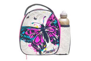Vaikiška termo kuprinė su buteliuku 300 ml, Butterfly