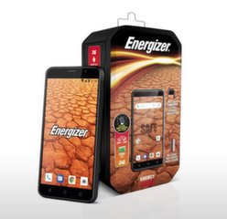 Energizer Energy E500, 8GB, Dual SIM, Juoda