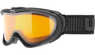 Slidinėjimo akiniai Uvex Comanche LGL, juodi