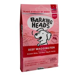 Barking Heads su jautiena Beef Waggington​​, 12 kg