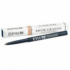 Antakių pieštukas Eylure Defining and Shaping 0.23 g, 20 Mid Brown kaina ir informacija | Antakių dažai, pieštukai | pigu.lt