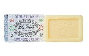 Organinis muilas La Fare 1789 75 g, Lavender & Olive