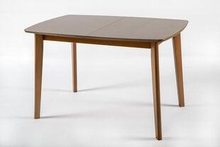 Išskleidžiamas stalas Bari S, šviesiai rudas kaina ir informacija | Virtuvės ir valgomojo stalai, staliukai | pigu.lt