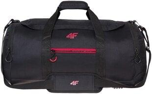 Sportinis krepšys 4F TPU009, 40 l, juodas kaina ir informacija | Kuprinės ir krepšiai | pigu.lt