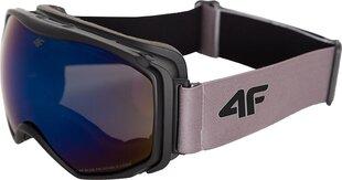 Vyriški slidinėjimo akiniai 4F GGM001, pilki