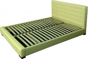 Dvigulė lova Prestige2, 180x200 cm, kreminė