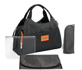 Krepšys Badabulle Changing Bag Multipocked, juodas
