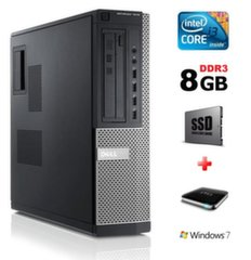 Dell 7010 DT i3-3220 8GB 120SSD+1TB Windows 7 Pro kaina ir informacija | Dell 7010 DT i3-3220 8GB 120SSD+1TB Windows 7 Pro | pigu.lt