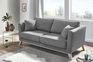 Sofa BoboChicDoblo, pilka kaina ir informacija | Sofos, foteliai ir minkšti kampai | pigu.lt