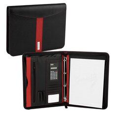 Dėklas Easy A4 su užtrauktuku, juodas/raudonas kaina ir informacija | Verslo dovanos | pigu.lt