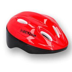 Vaikiškas dviratininko šalmas Dunlop, raudonas