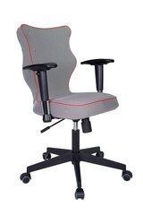 Ergonomiška biuro kėdė Nero LK14, pilka/raudona kaina ir informacija | Biuro kėdės | pigu.lt