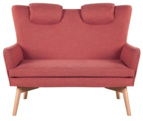 Sofa Flamenco, raudona