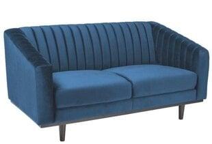 Sofa Signal Meble Asprey 2, mėlyna kaina ir informacija | Sofos | pigu.lt