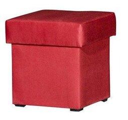Pufas Mini, raudonas kaina ir informacija | Sėdmaišiai ir pufai | pigu.lt