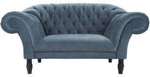 Sofa Cupido 1,5S, pilka kaina ir informacija | Sofos, foteliai ir minkšti kampai | pigu.lt